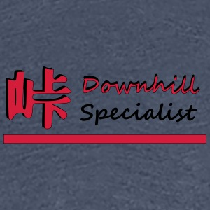 Downhill - Women's Premium T-Shirt