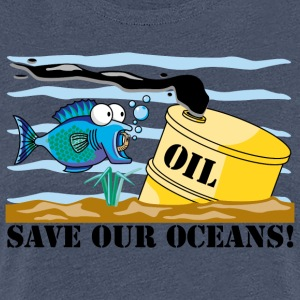 Earth Day Save Our Oceans - T-shirt Premium Femme