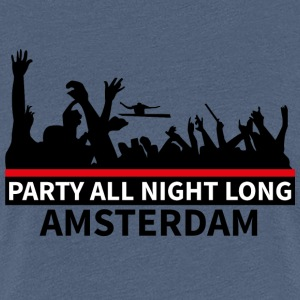 AMSTERDAM Party - Premium-T-shirt dam