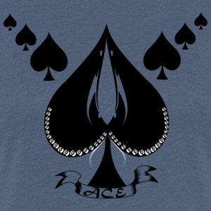Ace of skridskor - Premium-T-shirt dam