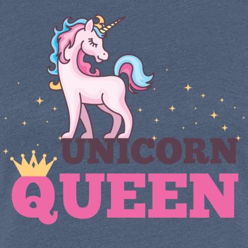 UNICORN QUEEN - Frauen Premium T-Shirt