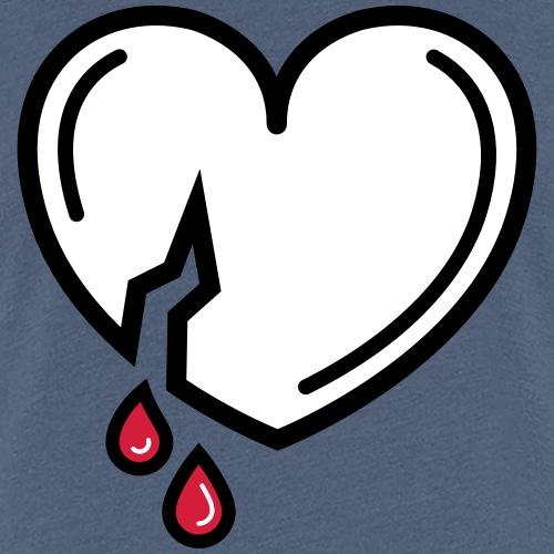 Bloody Love - Vrouwen Premium T-shirt