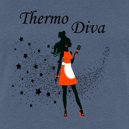 Ein Herz für den Thermomix - Frauen Premium T-Shirt