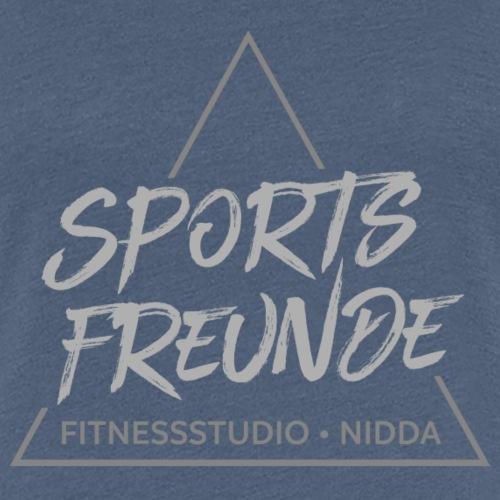 Sportsfreunde_grau - Frauen Premium T-Shirt