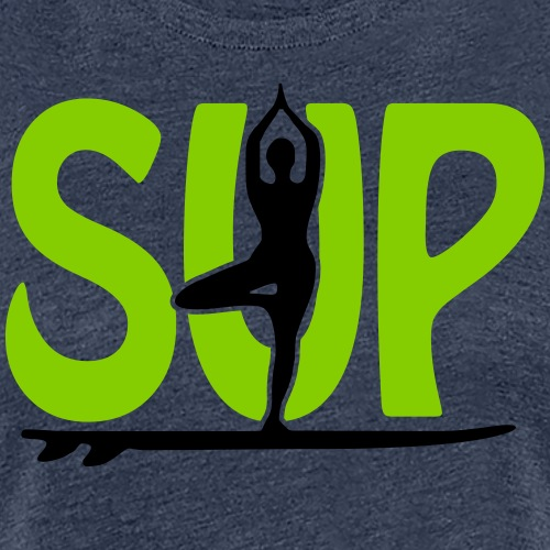 SUP Yoga - Frauen Premium T-Shirt