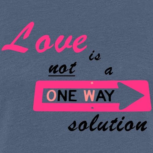 Love is everwhere - Frauen Premium T-Shirt