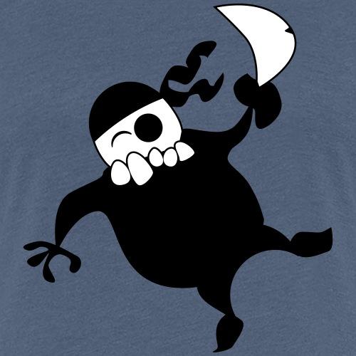 comic pirat mit Schwert - Frauen Premium T-Shirt