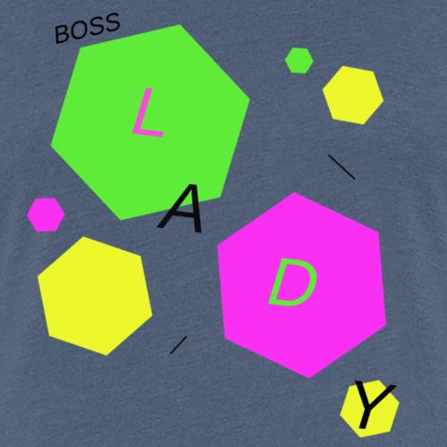 Bosslady - Frauen Premium T-Shirt