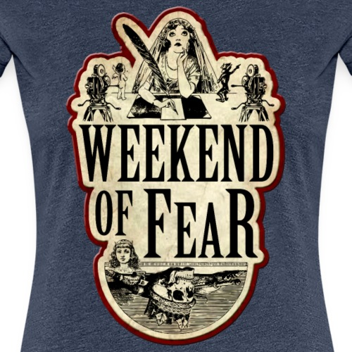 Weekend of Fear Vintage 04 Feder - Frauen Premium T-Shirt