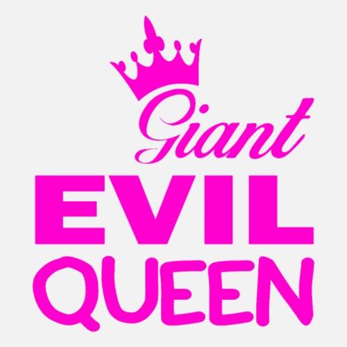 Giant EVIL QUEEN T-Shirt für Frauen und Mädchen - Frauen Premium T-Shirt