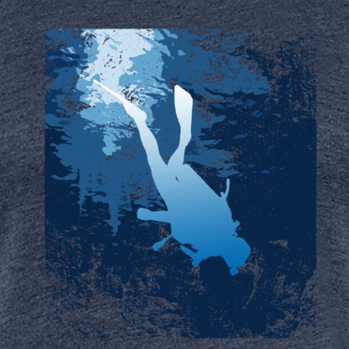 Taucher Dive & Fun - Frauen Premium T-Shirt