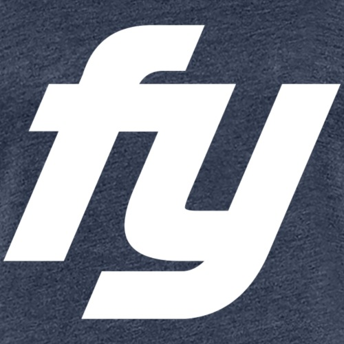 Logo Trendy Weiss - Frauen Premium T-Shirt