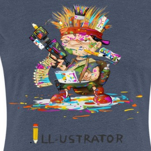 Illustrator - Frauen Premium T-Shirt