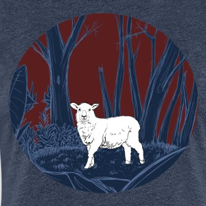 Sheep in the forest - Women's Premium T-Shirt