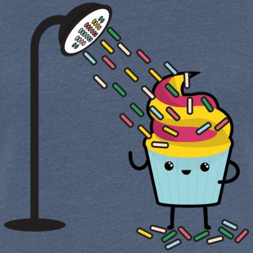 CUPCAKE SHOWER - Frauen Premium T-Shirt