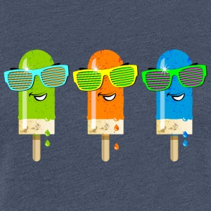 Popsicle ispind is Gelato sommer sød - Dame premium T-shirt