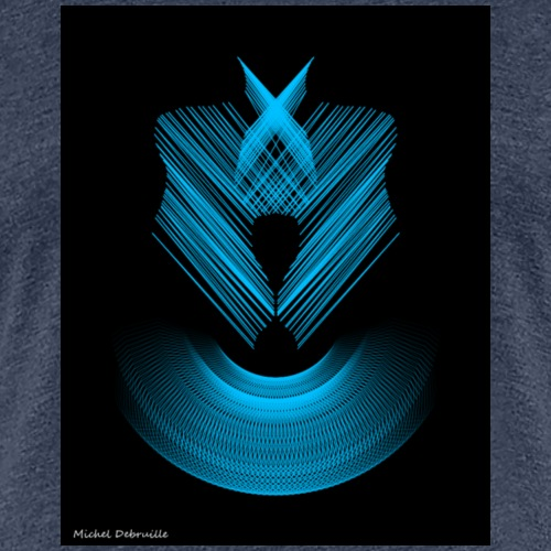 Spirality Drawing 5 - T-shirt Premium Femme