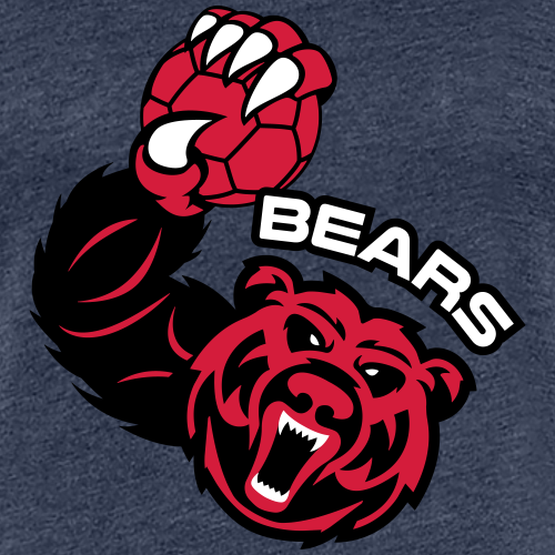 Bears Handball - T-shirt Premium Femme