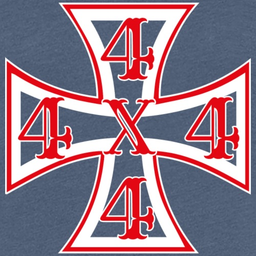 4x4 Cross - Frauen Premium T-Shirt