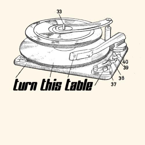 Turn ThisTable On! - Frauen Premium T-Shirt