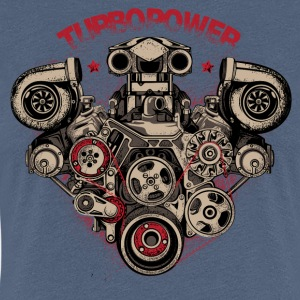 turbo power - Women's Premium T-Shirt