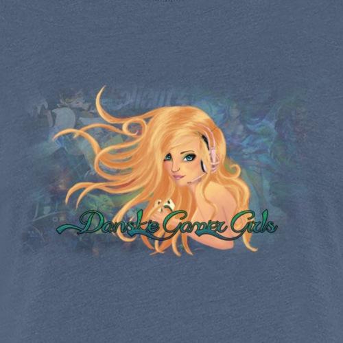 Danske Gamer Girls - Dame premium T-shirt