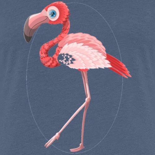 Rosa Flamingo - Frauen Premium T-Shirt