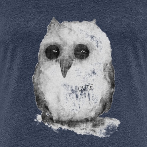 Cute but devilish inside - Frauen Premium T-Shirt