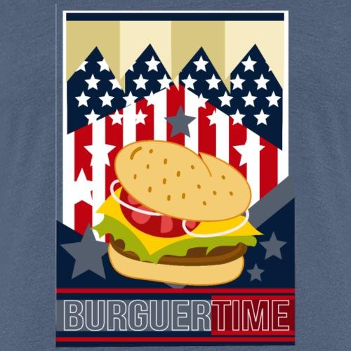 BURGUERTIME - Camiseta premium mujer