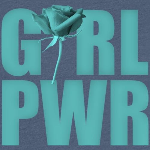 Girl power green - Frauen Premium T-Shirt