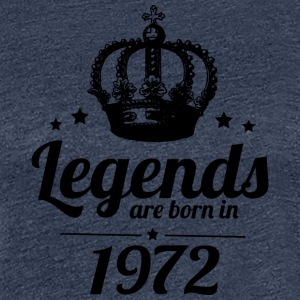 Legenden 1972 - Frauen Premium T-Shirt