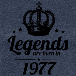 Legends 1977 - Women's Premium T-Shirt