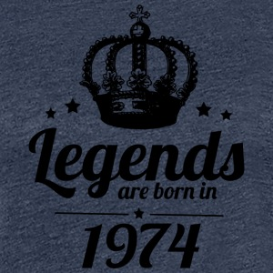 Legends 1974 - Women's Premium T-Shirt