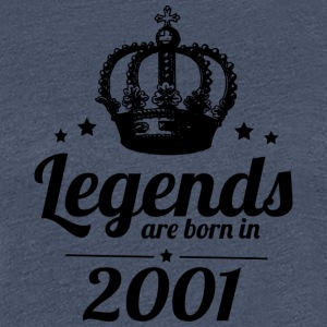 Legends 2001 - Women's Premium T-Shirt