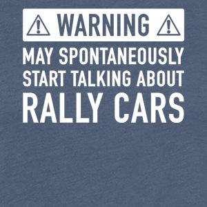 Funny Rally Car gave ide - Dame premium T-shirt