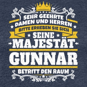 His Majesty Gunnar - Women's Premium T-Shirt