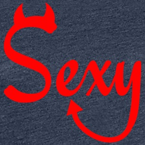 SEXY MEN KRAFTIG RED - Premium T-skjorte for kvinner