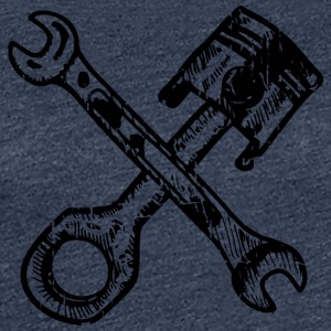 piston wrench - Women's Premium T-Shirt