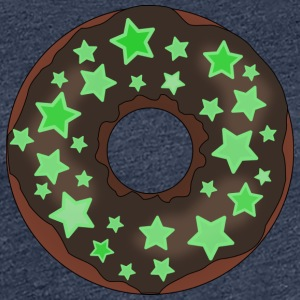 Donut with stars - Women's Premium T-Shirt