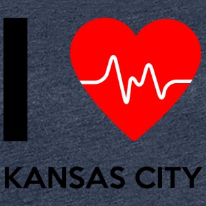 J'aime Kansas City - I love Kansas City - T-shirt Premium Femme
