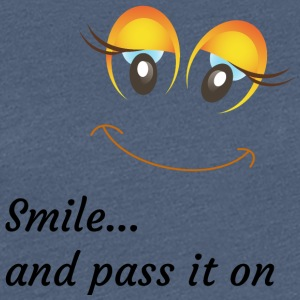 smile and pass it on - Women's Premium T-Shirt