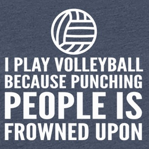 VOLLEYBALL - Dame premium T-shirt