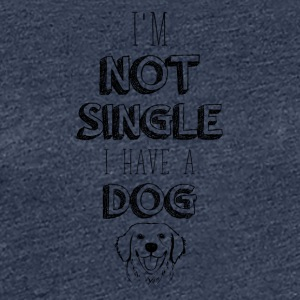 Single dog - Women's Premium T-Shirt