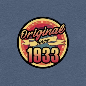 Gift for the 84th birthday - vintage 1933 - Women's Premium T-Shirt