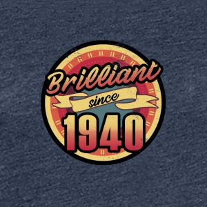 Gift for the 77th birthday - vintage 1940 - Women's Premium T-Shirt