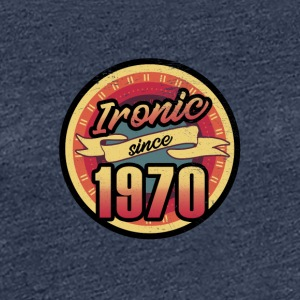 Gift for the 47th birthday - vintage 1970 - Women's Premium T-Shirt