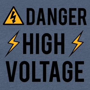 Électricien: Danger! High Voltage! - T-shirt Premium Femme