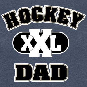 Hockey Dad - Dame premium T-shirt