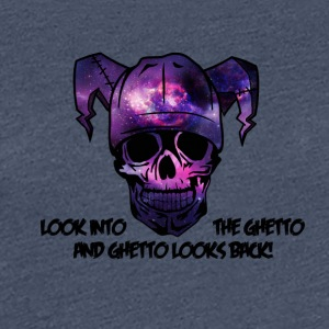 Look into the Ghetto and Ghetto looks back! - Women's Premium T-Shirt