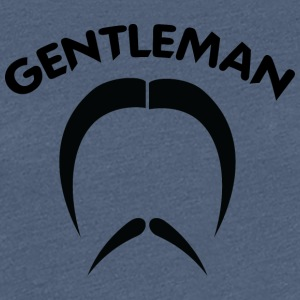 GENTLEMAN 2 black - Women's Premium T-Shirt